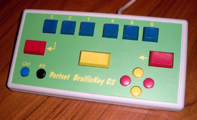 Portset BrailleKey G2