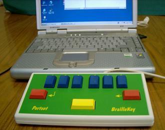 Portset BrailleKey